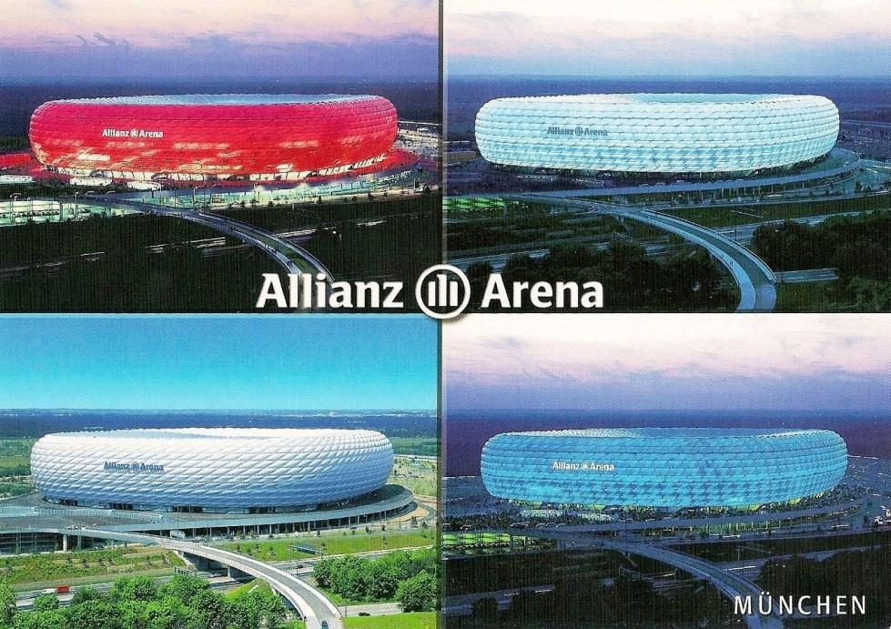 Herzog & de Meuron's Allianz Arena, Werner-Heisenberg-Allee 25, Munich, Germany